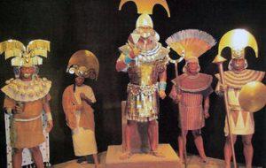 Display in Royal Tombs Of Sipan Museum