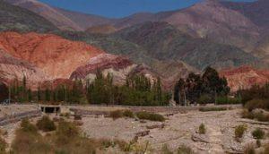 colorful hillsides of Cerro de los Siete Colores