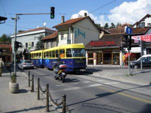 street in Sarajevo