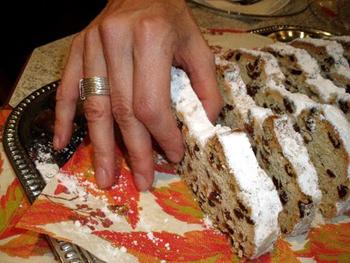 Stollen - German Christmas bread