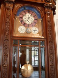 clock in German watch museum