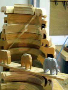 Seiffen wooden toys