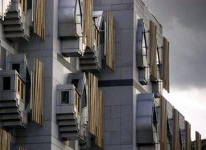 Scotland Parliament building