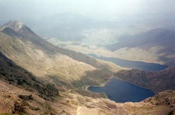 view from Mt. Snowdon summit