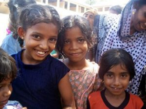 faces of Sri Lankan children