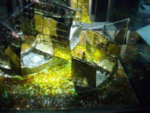 display in amber museum
