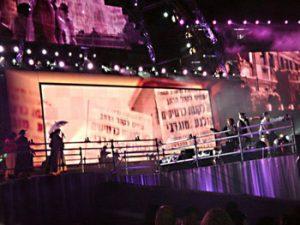 Tel Aviv stage performance