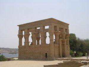 Hathor temple at Philae Aswan