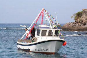boat in Tenerife harbor