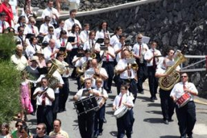 marching band in Tenerife parade