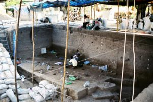 Ban Non Wat archaeological dig