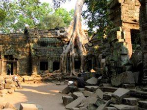 khmer temple ruins, Siem Reap