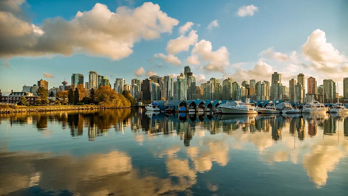 Vancouver, British Columbia skyline