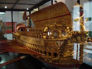 exhibit in Naval Museum