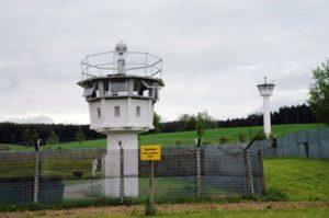 watchtower in Mödlareuth, Germany