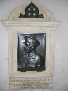 Memorial to General Wilson at Liverpool Station