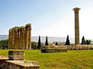 remains of Olympian Zeus temple, Athens