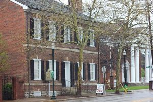 exterior of Mary Todd Lincoln home, Lexington