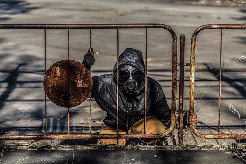 Tourist in Chernobyl