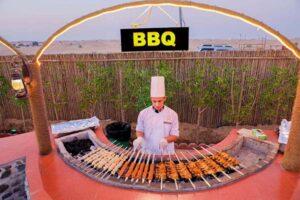 barbecue Dubai desert